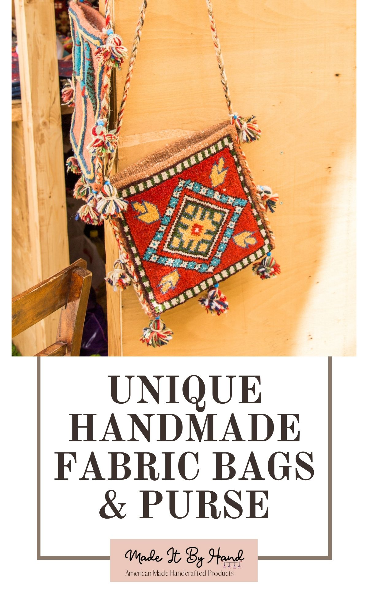UNique handmade fabric bags and purses