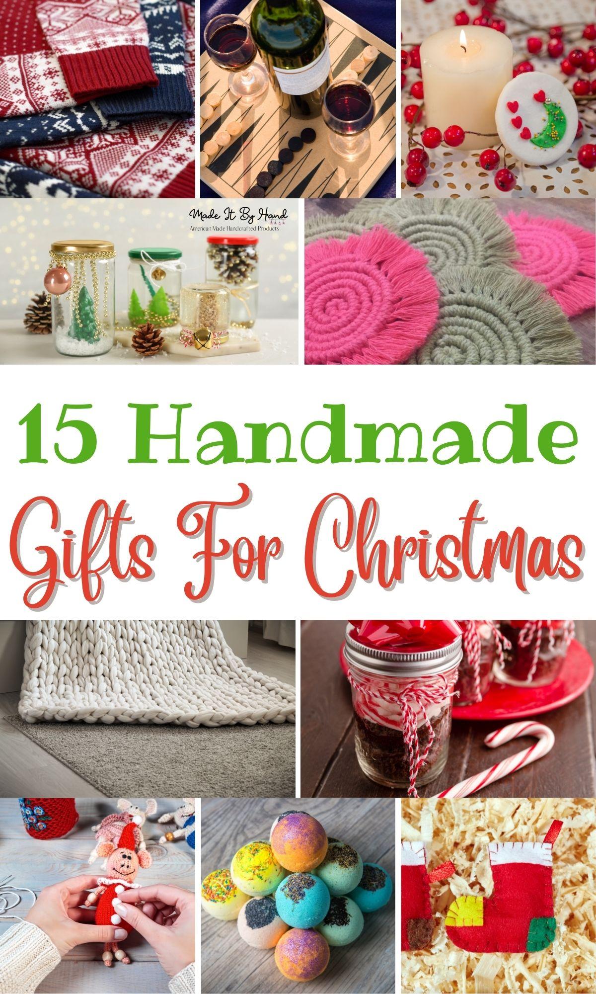 handmade gifts for christmas
